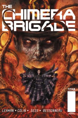 The Chimera Brigade #4 (Percival Cover)