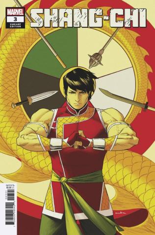 Shang-Chi #3 (Anka Cover)