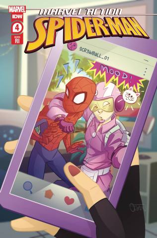 Marvel Action: Spider-Man #4 (10 Copy Florean Cover)