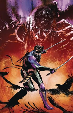 Ninjak #25 (Laming Cover)