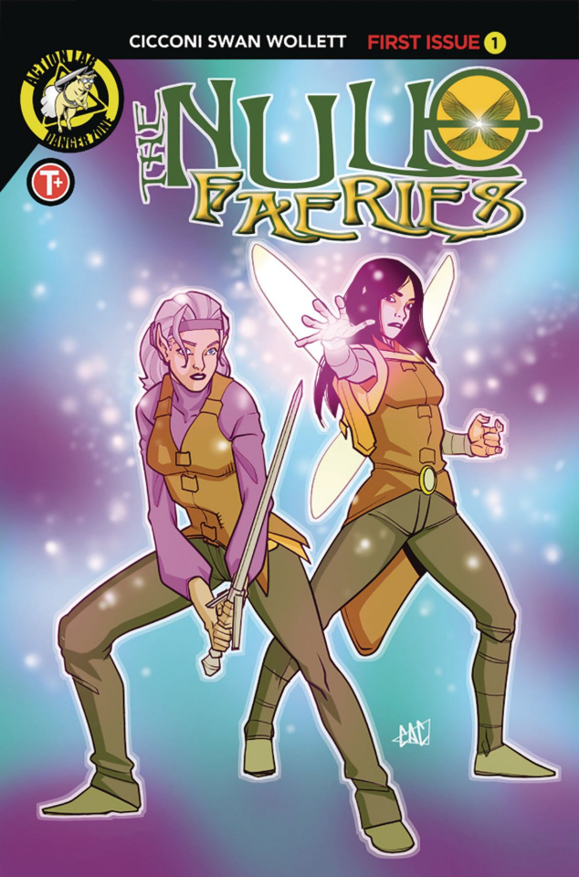 The Null Faeries #1 (Cicconi Cover)