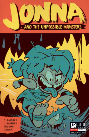 Jonna and the Unpossible Monsters #6 (Cannon Cover)