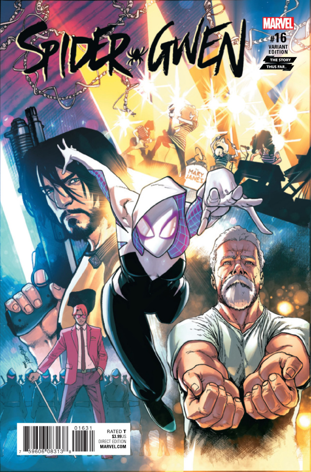 Spider-Gwen #16 (Marquez Story Thus Far Cover)