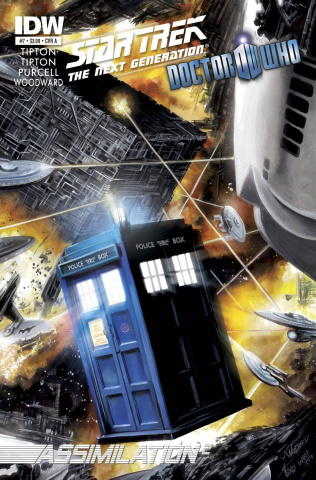 Star Trek: The Next Generation/Doctor Who - Assimilation #7