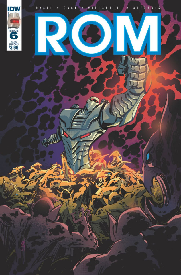 ROM #6 (Subscription Cover C)