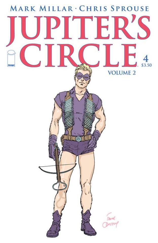 Jupiter's Circle #4 (Quitely Cover)