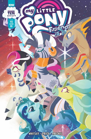 My Little Pony: Friendship Is Magic #92 (10 Copy JustaSuta Cover)