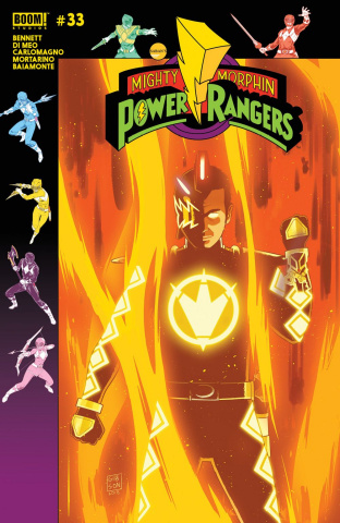 Mighty Morphin' Power Rangers #33 (Gibson Cover)