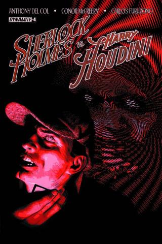 Sherlock Holmes vs. Harry Houdini #4 (Campbell Cover)