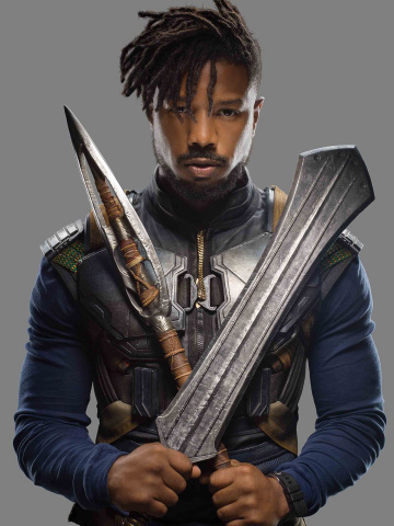 Killmonger #1 (Movie Cover)
