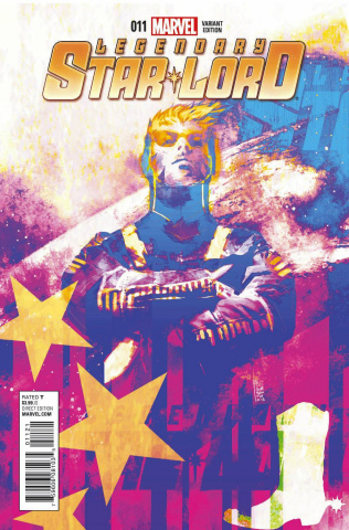 Legendary Star-Lord #11 (Cosmically Enhanced Cover)