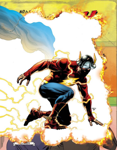 The Flash #22 (Lenticular Cover)