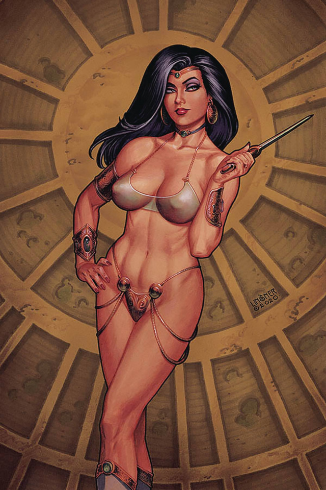 Dejah Thoris #7 (Linsner Virgin Cover)