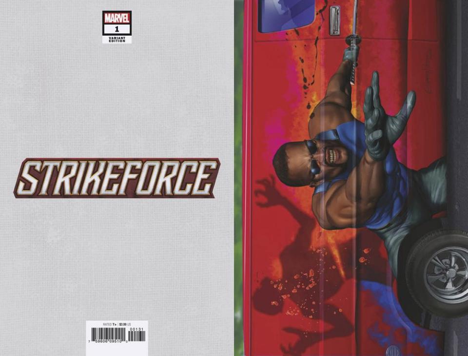 Strikeforce #1 (Horn Van Cover)