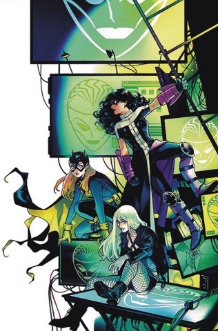 Batgirl and The Birds of Prey #4 (Variant Cover)