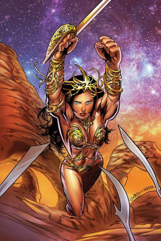 Dejah Thoris #6 (Gedeon Homage Virgin Cover)