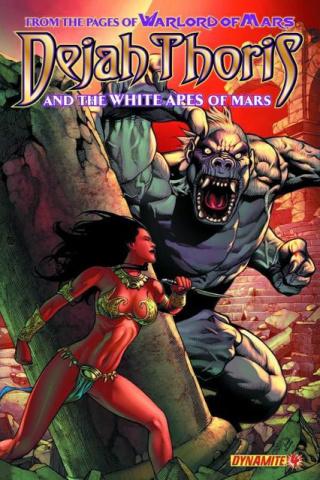 Dejah Thoris & The White Apes of Mars #4