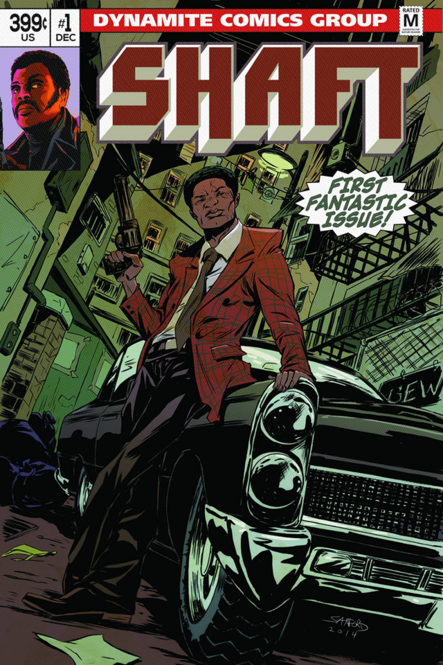 Shaft #1 (Subscription Cover)