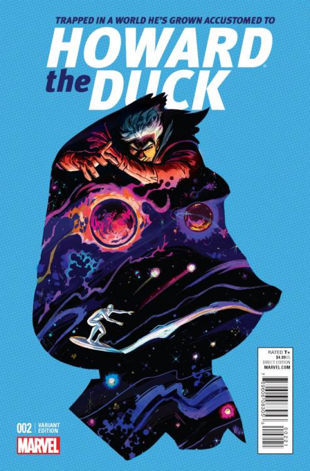 Howard the Duck #2 (Fish Cover)