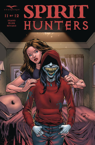 Spirit Hunters #11 (Richardson Cover)