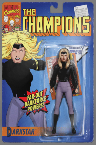 Champions #3 (Christopher Classic Action Figure Cover)