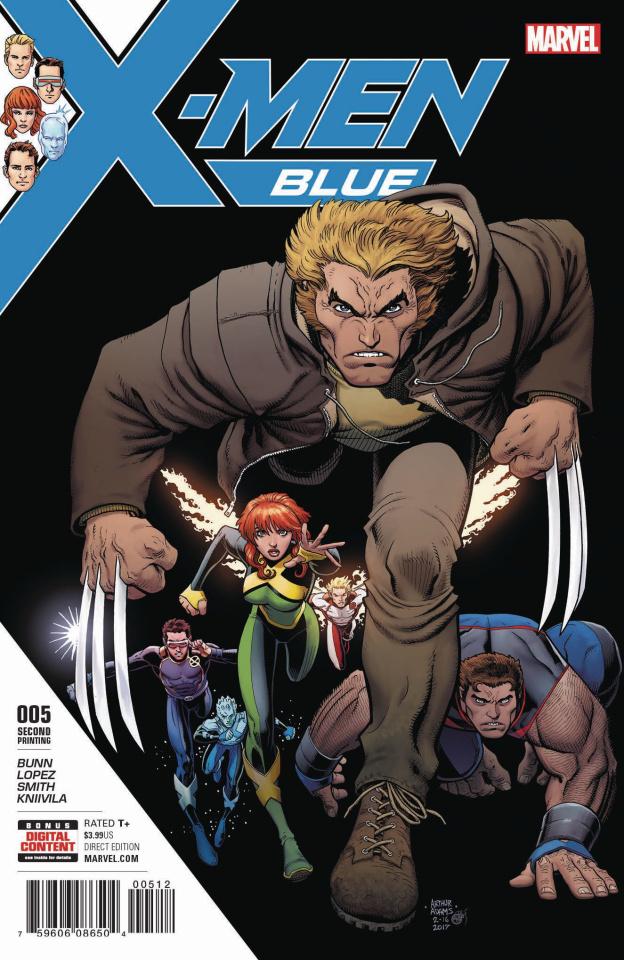 X-Men: Blue #5 (2nd Printing)