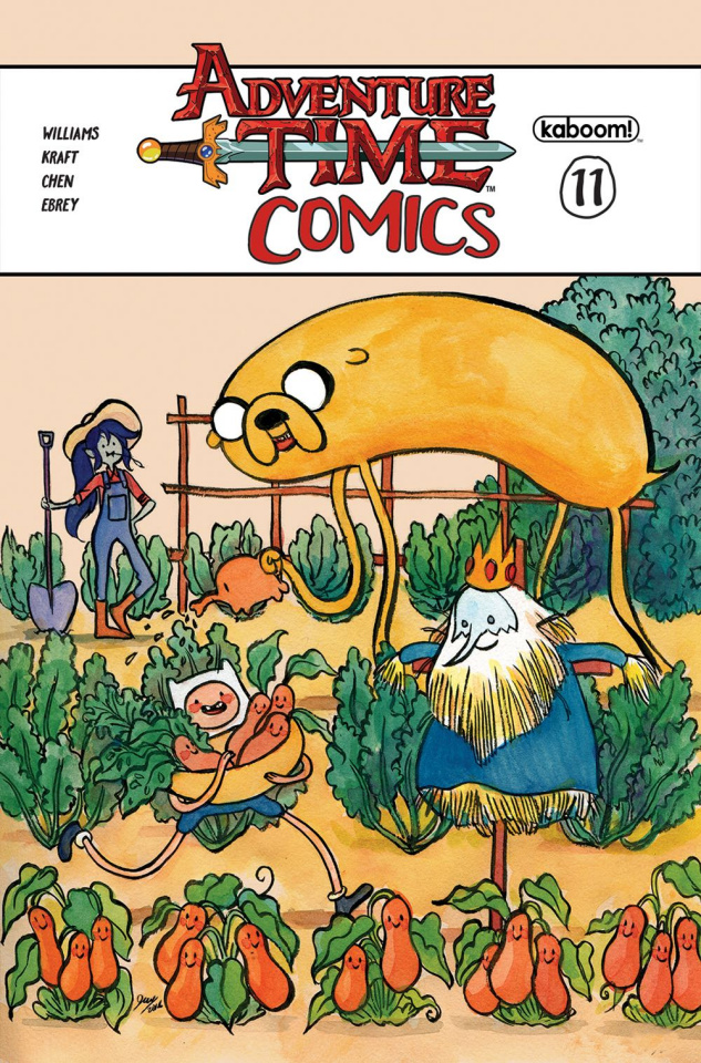 Adventure Time Comics #11 (Subscription Wang Cover)