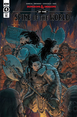 Dungeons & Dragons: At the Spine of the World #4 (10 Copy Cover)