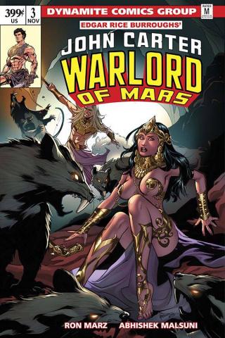 John Carter: Warlord of Mars #3 (Lupacchino Cover)