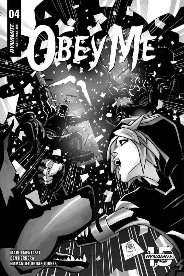 Obey Me #4 (10 Copy Herrera B&W Cover)