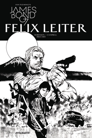 James Bond: Felix Leiter #3 (10 Copy B&W Cover)