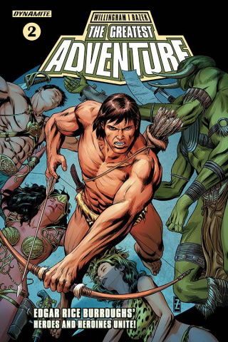 The Greatest Adventure #2 (Zircher Cover)
