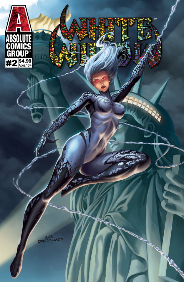 White Widow #2 (Continuado Foil Cover)