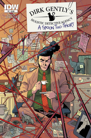 Dirk Gently's Holistic Detective Agency: A Spoon Too Short #1