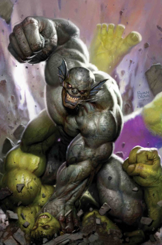 The Immortal Hulk #22 (Brown Cover)