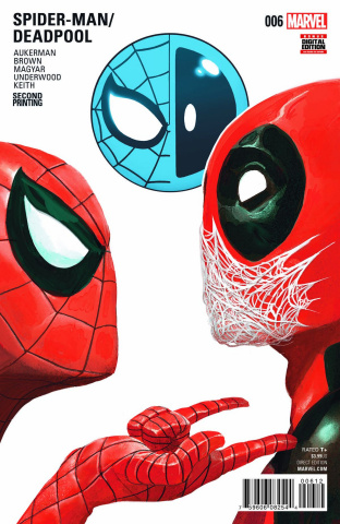 Spider-Man / Deadpool #6 (Del Mundo 2nd Printing)