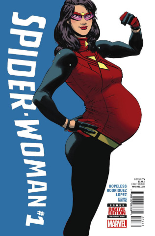 Spider-Woman #1 (Rodriguez 2nd Printing)