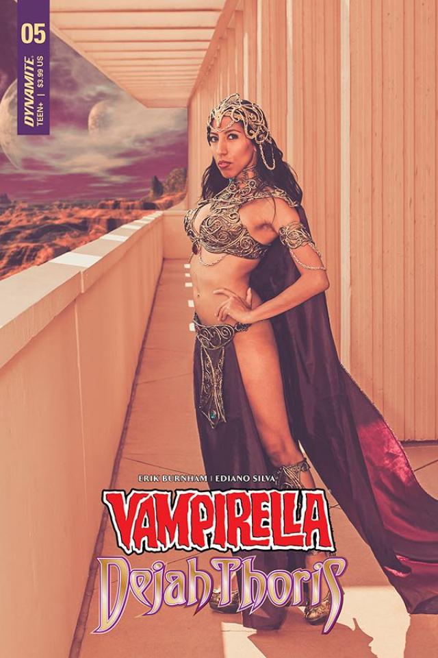 Vampirella / Dejah Thoris #5 (Dejah Thoris Cosplay Cover)