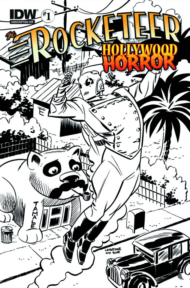 The Rocketeer: Hollywood Horror #1 (Subscription Cover)