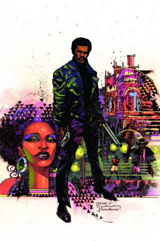Shaft #1 (Rare Cowan Virgin Art Cover)