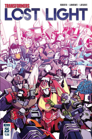 The Transformers: Lost Light #25 (Lawrence Cover)