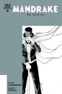 Mandrake: The Magician #3 (10 Copy Shalvey B&W Cover)