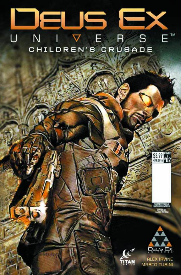 Deus Ex #2 (Turini Cover)