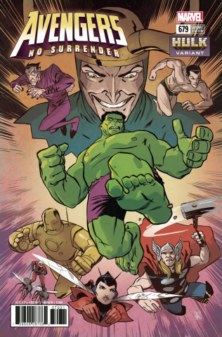 Avengers #679 (Perez Hulk Cover)