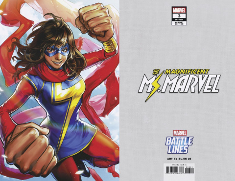 The Magnificent Ms. Marvel #3 (Sujin Jo Marvel Battle Lines Cover)