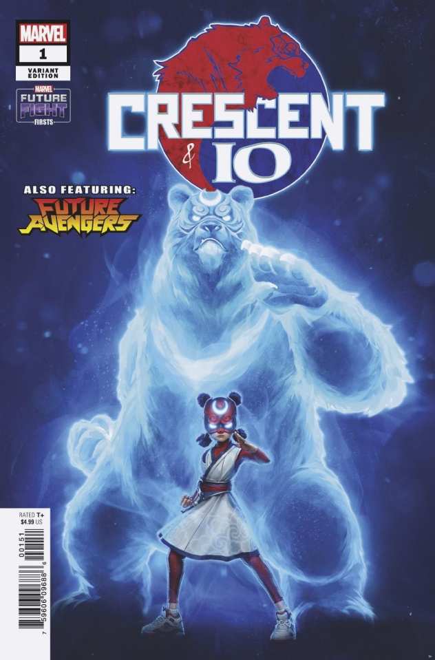 Future Fight Firsts: Crescent & Io #1 (Jeehyung Lee Cover)