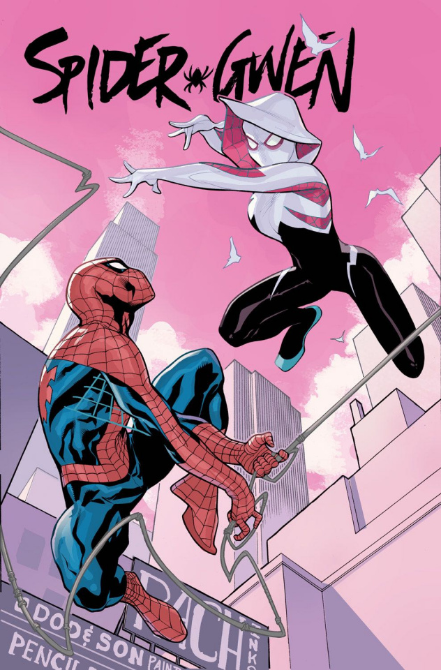 Spider-Gwen #14 (Dodson Divided We Stand Cover)