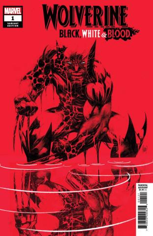 Wolverine: Black, White & Blood #1 (Kubert Cover)
