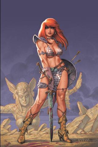 Red Sonja #18 (Linsner Virgin Cover)