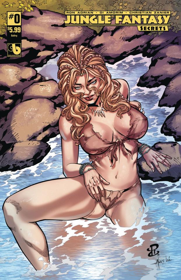 Jungle Fantasy: Secrets #0 (Sultry Cover)